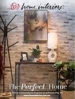 Portada Catálogo Home Interiors Decoración