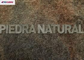Portada Catálogo Recubre Piedra Natural