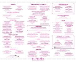 Portada Catálogo El Portón Almuerzos
