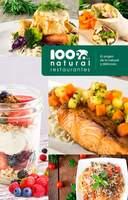 Portada Catálogo Menú 100% Natural