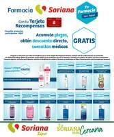 Portada Catálogo Soriana Super Farmacia