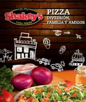 Portada Catálogo Shakey's Menú