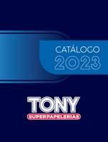 Portada Catálogo Tony Papelerías